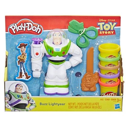 PLAY DOH Disney Toy Story Buzz Lightyear E3369 plastalīna komplekts