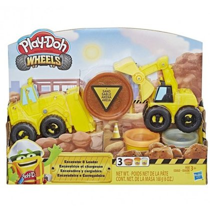 Play Doh Wheels Ekskavators E4294