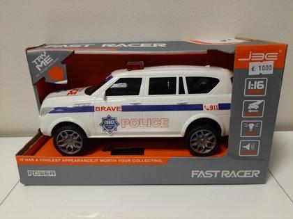 FAST RACER Brave Police interaktīvs policijas auto