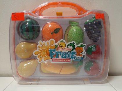 Griežamie auglīši koferī CUTTING FRUIT