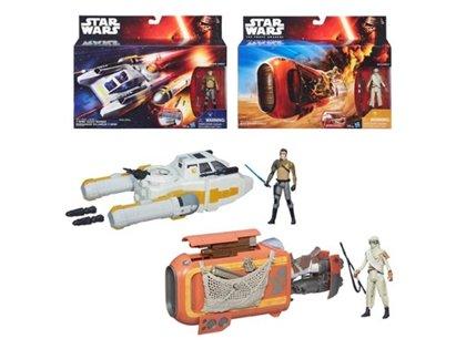 Hasbro Star Wars Reys Speeder Jakku komplekts