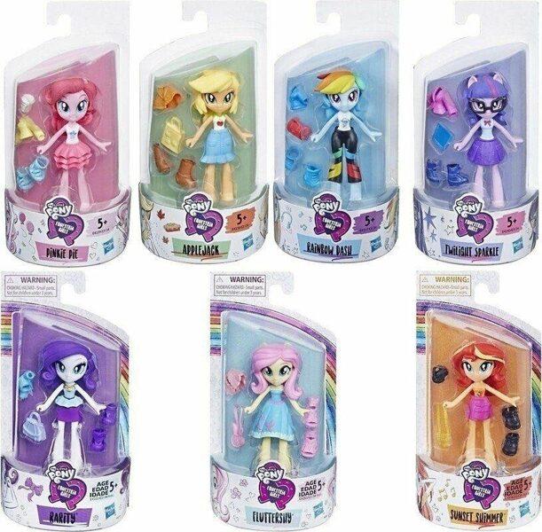 Hasbro My Little Pony Equestria Girls lellītes MIX