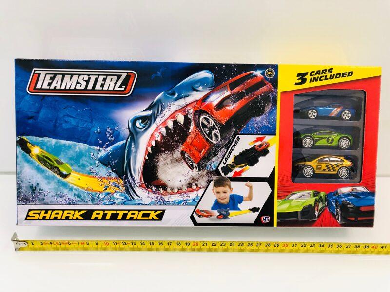 SPEEDSTERZ Shark Attack Haizivs uzbrukums trase ar automašīnām