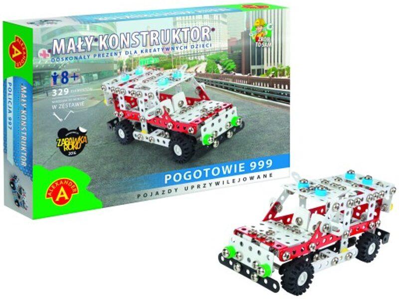 Metāla konstruktots MALY POGOTOWIE 999 ātrā palīdzība 329 elementi