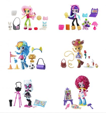 Hasbro My Little Pony  lelle ar aksesuāriem B4909