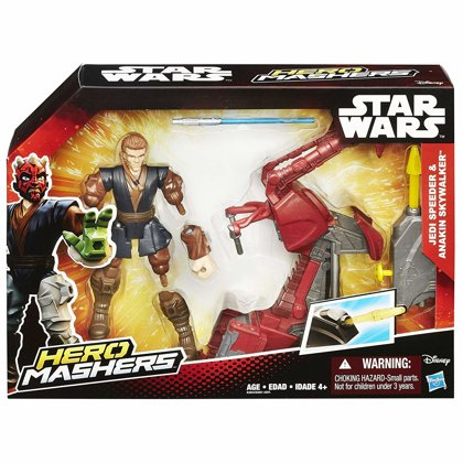 Hasbro Star wars mashers speeder komplekts