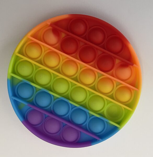 POP IT rotaļlieta aplis Mix krāsas