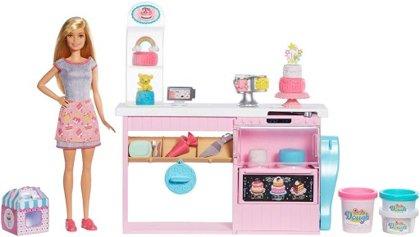 Mattel Barbia Cake Decoration Playset komplekts