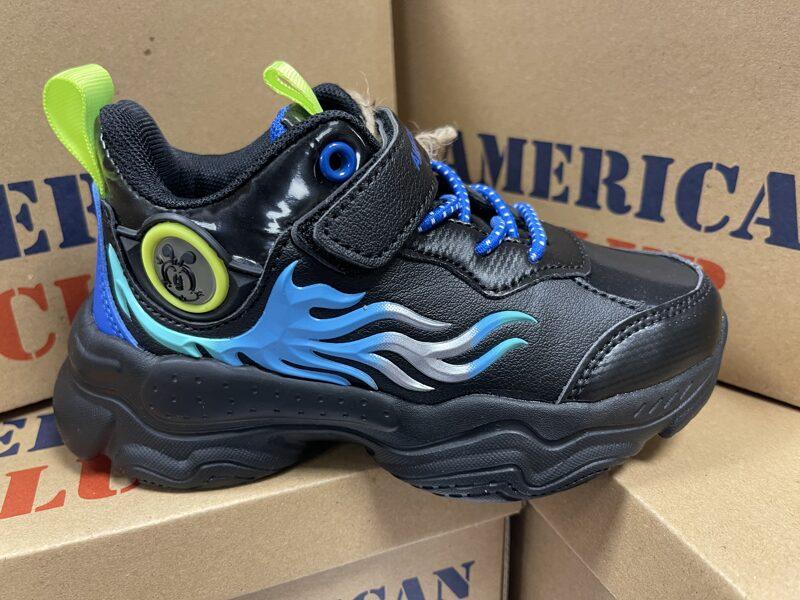 Bērnu apavi BD15/21, izmēri 26-30, black navi
