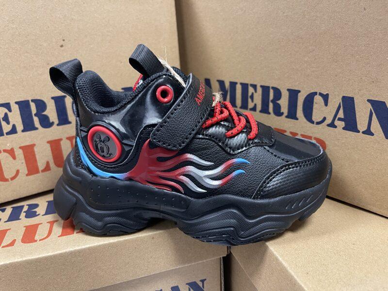 Bērnu apavi BD15/21, izmēri 26-30, black red