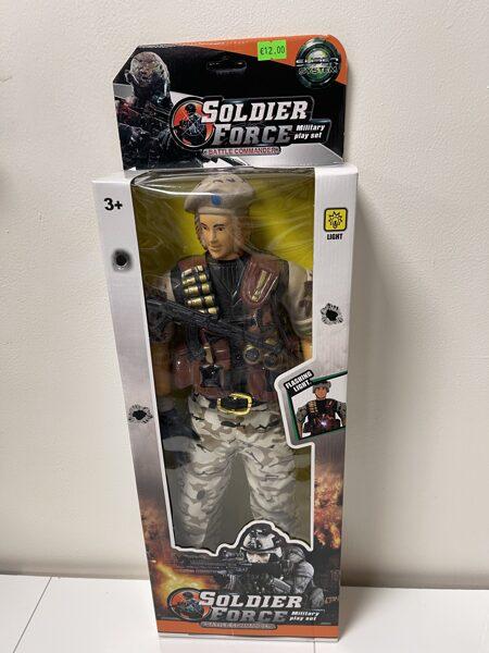 Ļoti liela zaldāta figūra SOLDIER FORCE