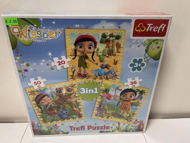Trefl puzle Wisper 3 in 1