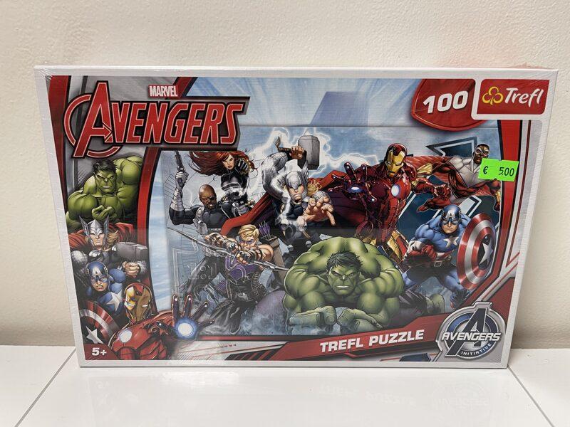 Trefl puzle Marvel Avangers 100 gab