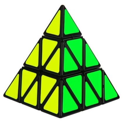 Loģikas spēle/ kubiks PYRAMINX, 9,7 cm