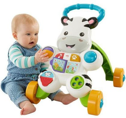 Fisher Price staigulis Zebra