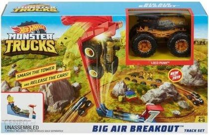 Hot Wheels Monster Trucks Big Air Breakout auto trase GCG00