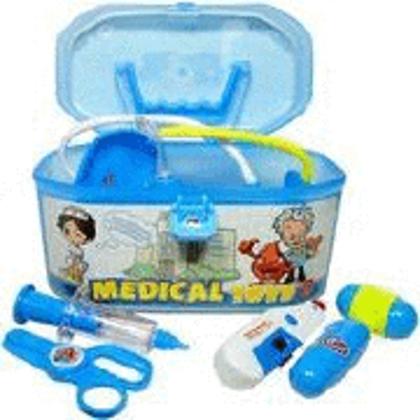 Dakteru komplekts-koferis Medical Toys