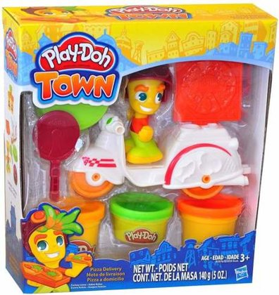 Play Doh Town Pizza Delivery