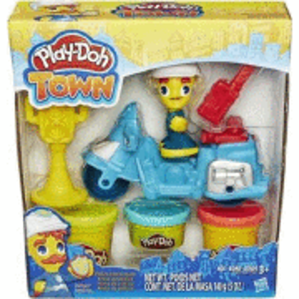 Play Doh Town police Motorcycle
