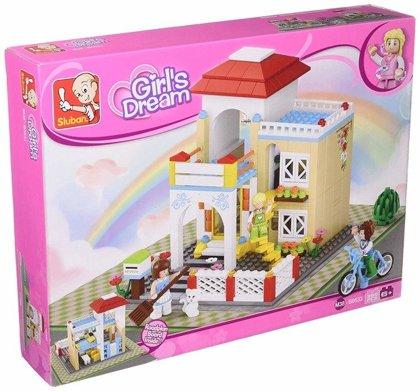 Sluban Girls Dream konstruktors lego Māja, 380 elementi