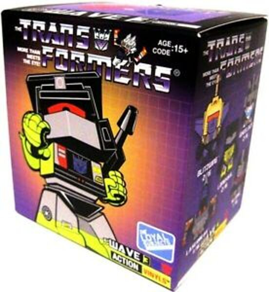 Hasbro TRANS FORMERS The Royal subjects WAVE 3 Action Vinyls kolekcionējamie transformeri