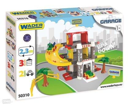 Wader garāža Up&Down, 3 līmeņu